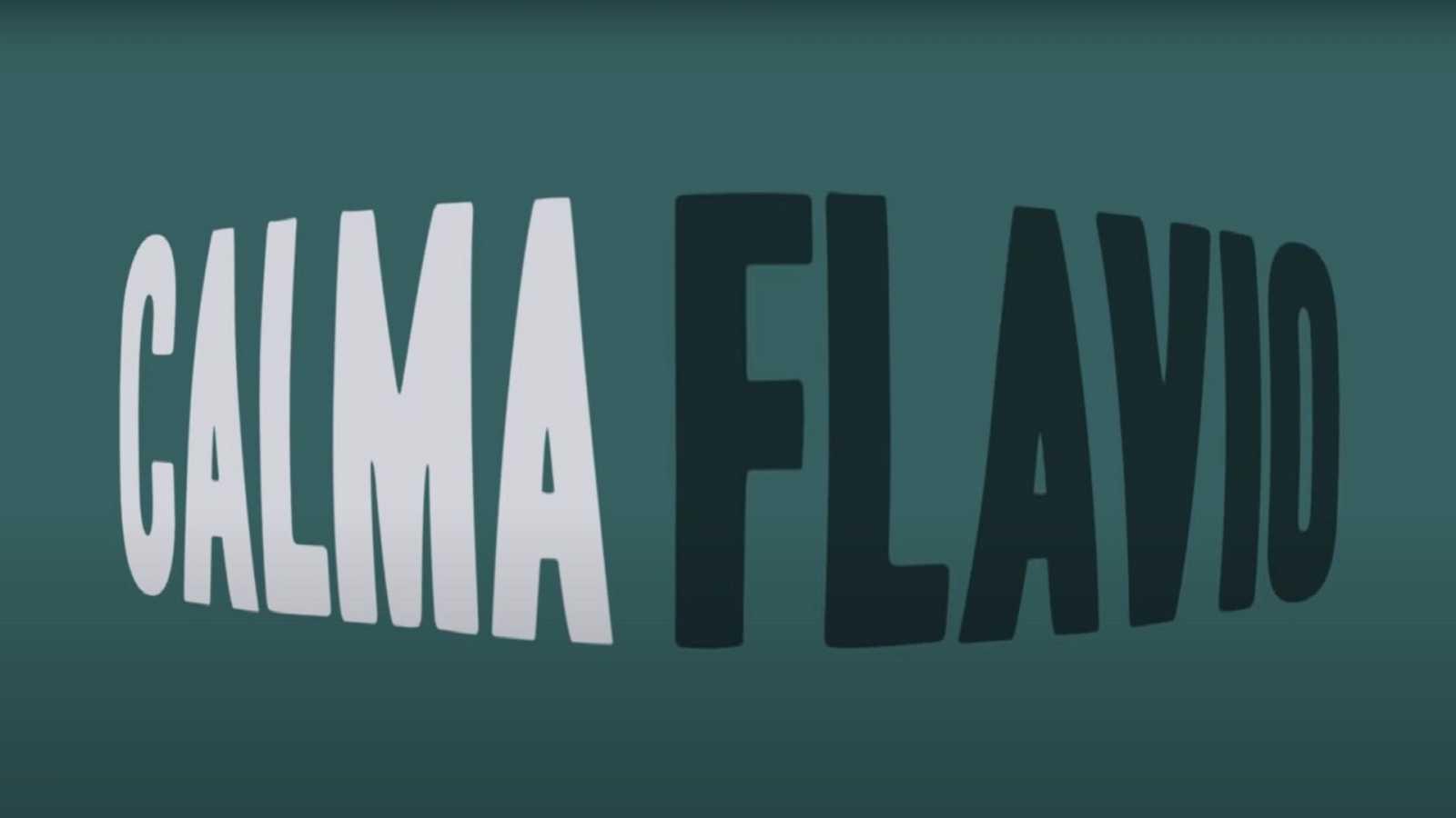 """El lyric video de """"Calma"""", primera canción de Flavio"""