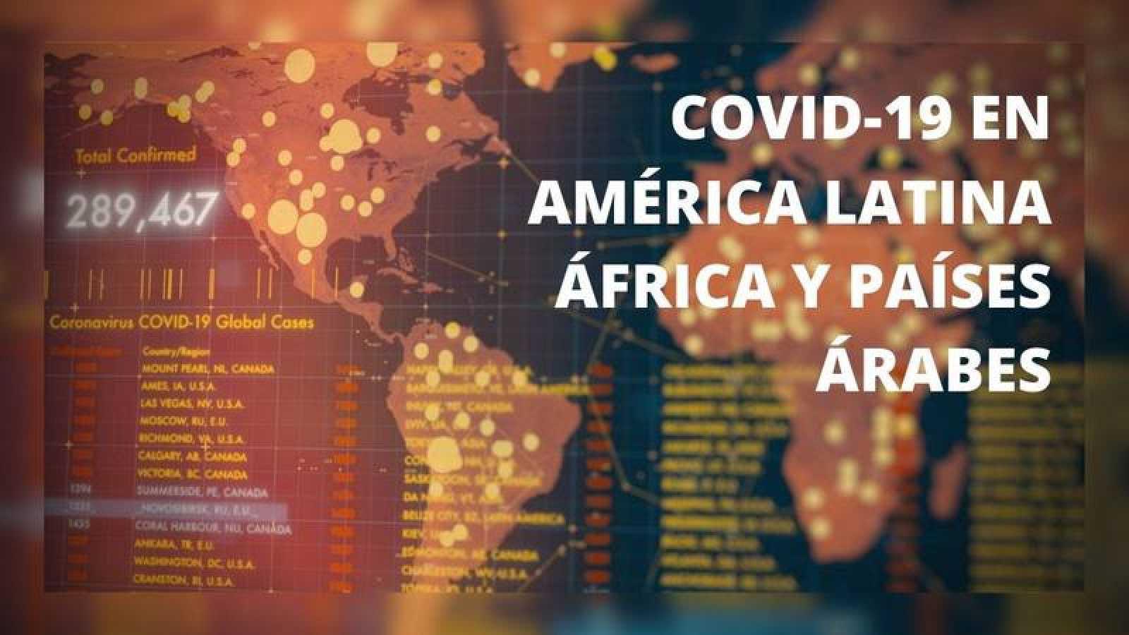 COVID-19 en América Latina, África y países árabes
