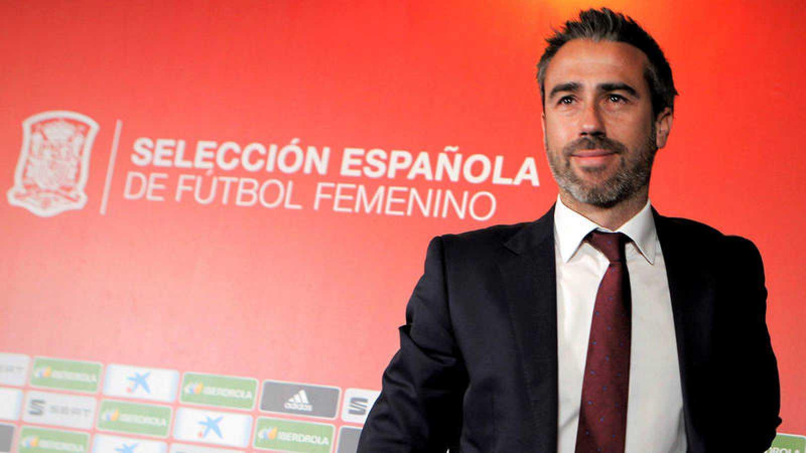 El seleccionador español del equipo femenino de fútbol, Jorge Vilda.