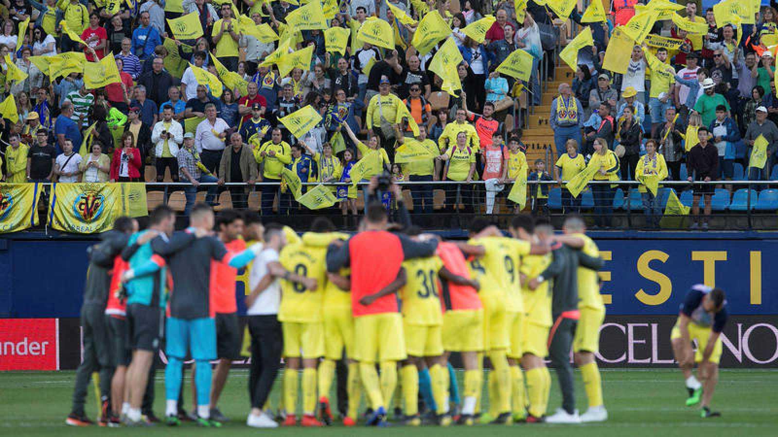 Imagen del partido Villarreal - Eibar
