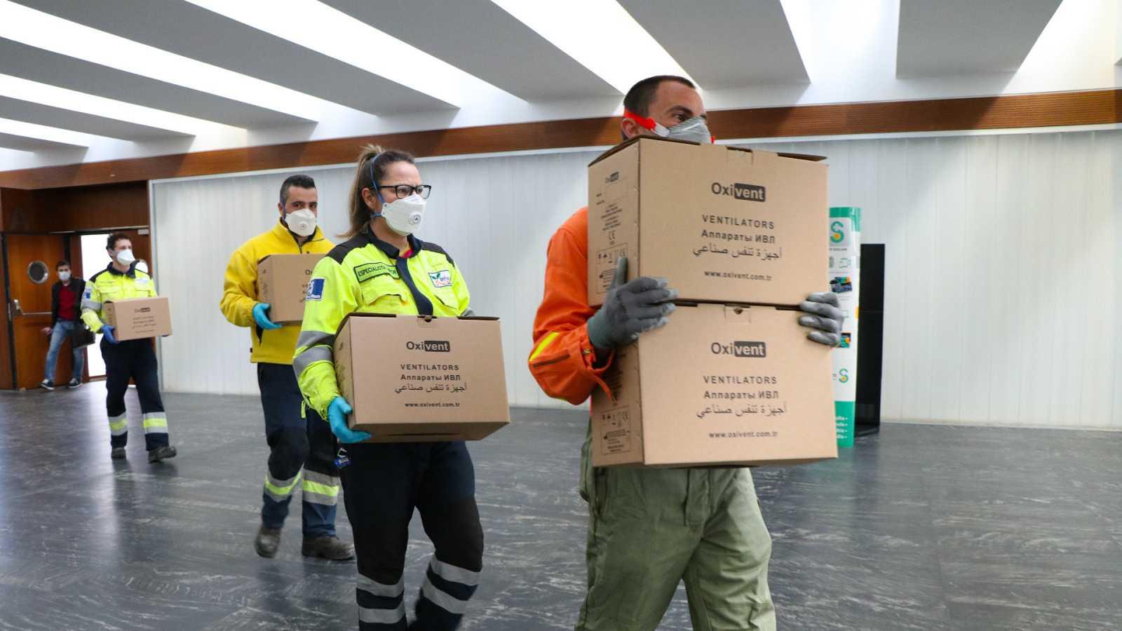 Según su Consejería de Sanidad, Castilla-La Mancha ha multiplicado por cuatro el número de respiradores desde el inicio de la pandemia