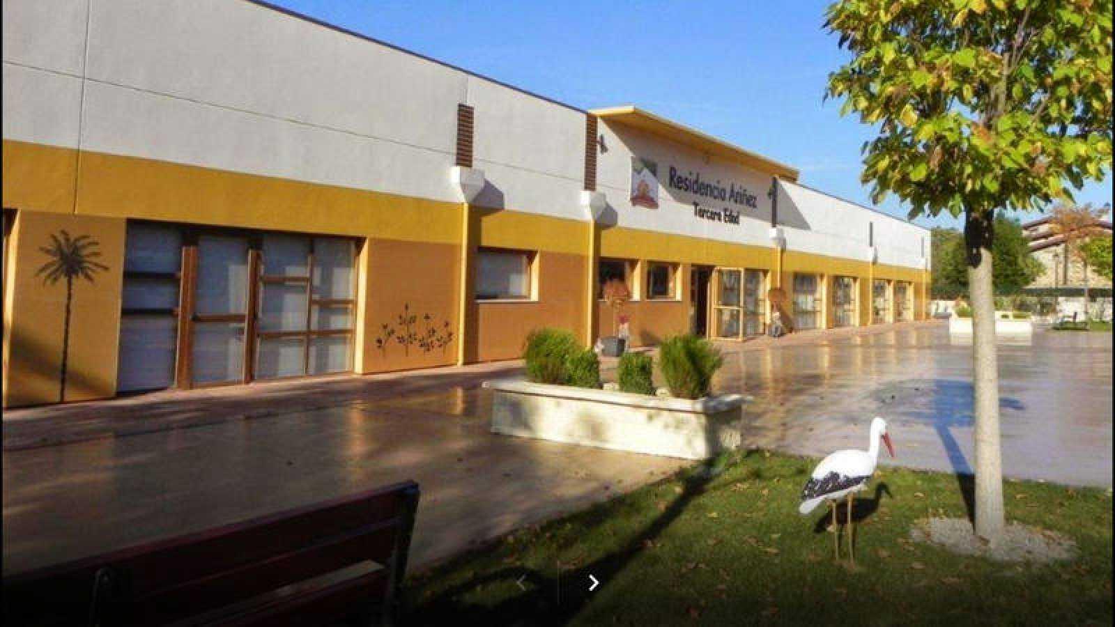 Vista de la residencia Ariñez, en el pueblo alavés del mismo nombre