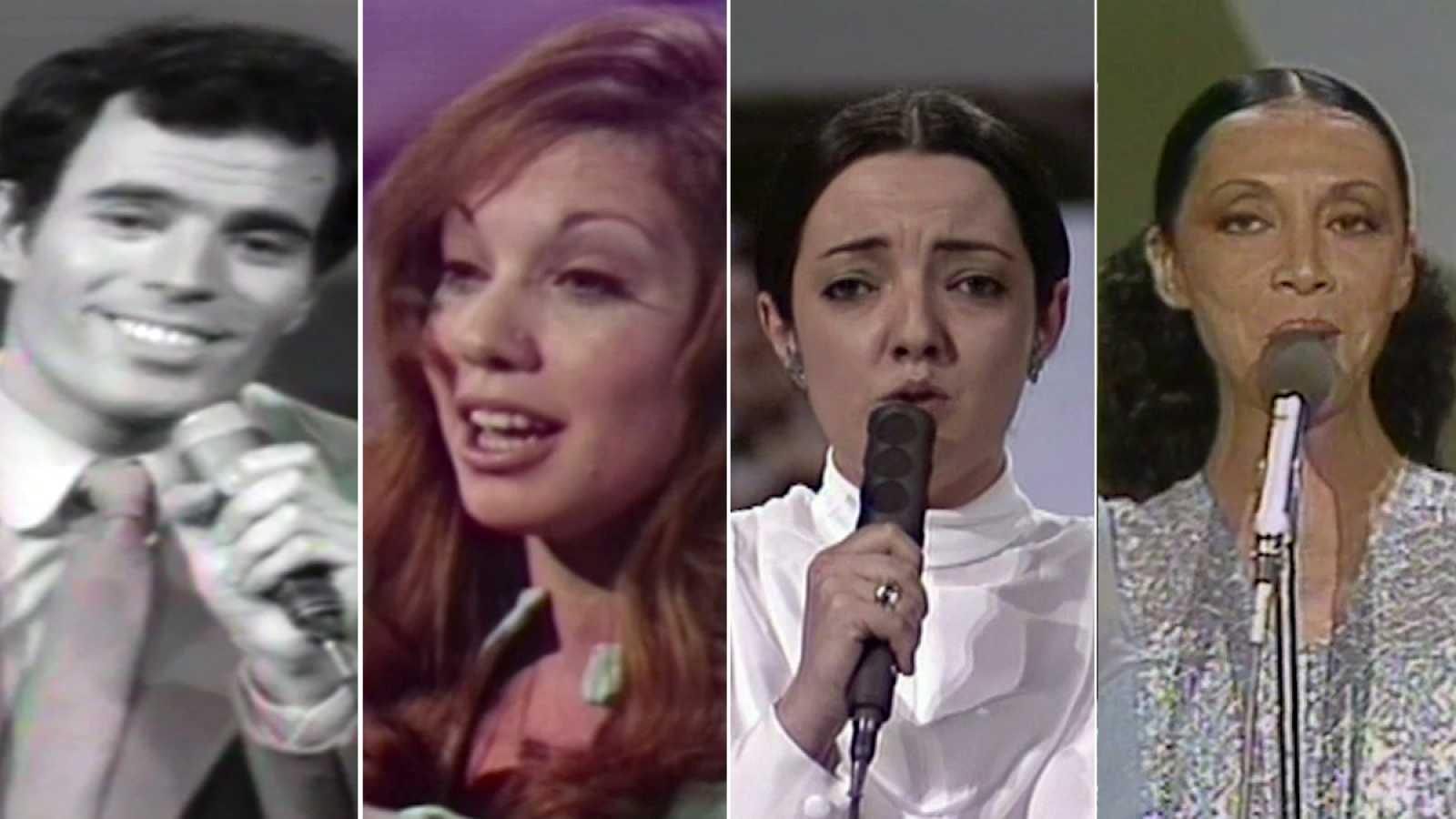 Canciones de España en Eurovisión en los años 70