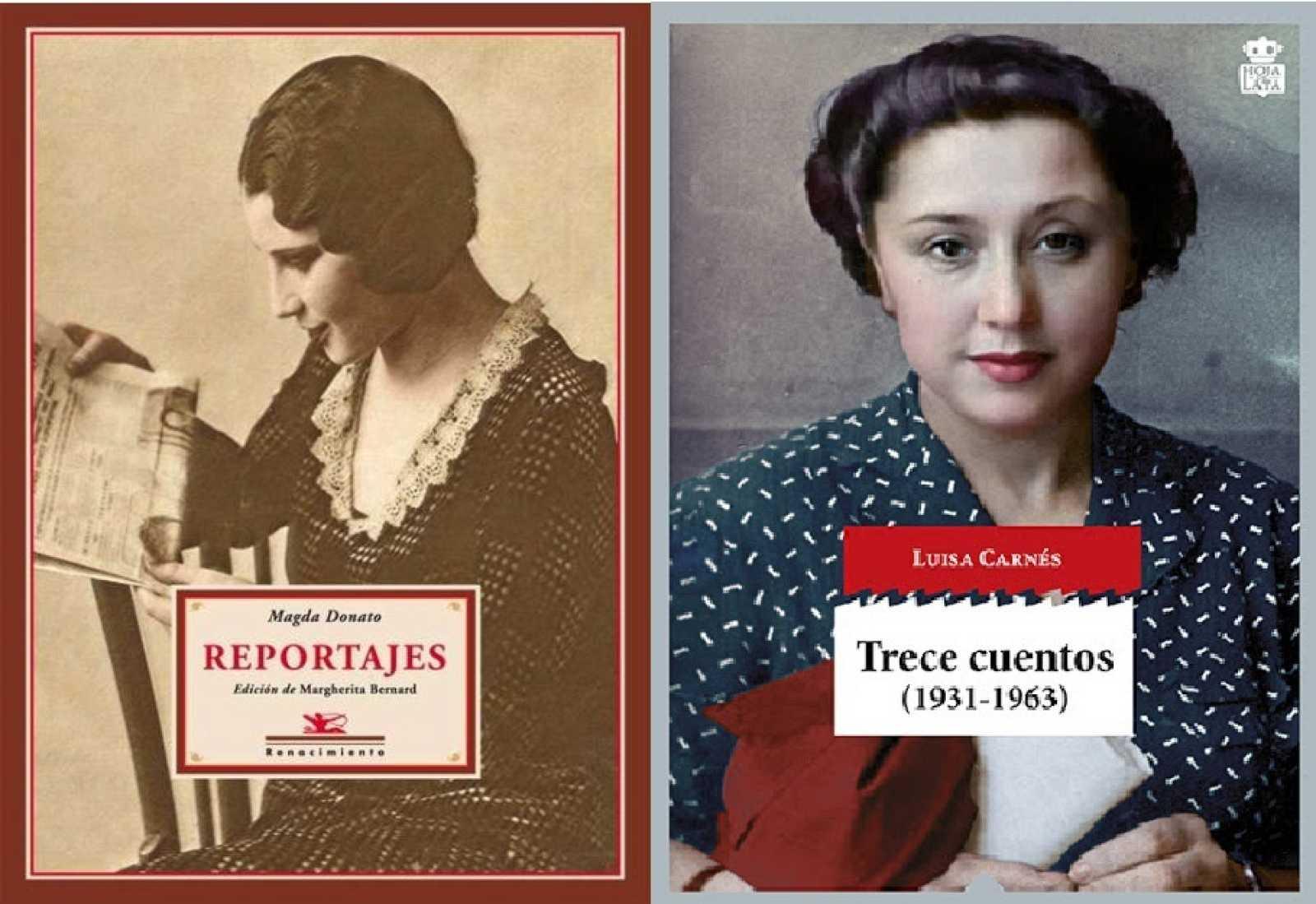 Reedición de las obras de Magda Donato y Luisa Carnés