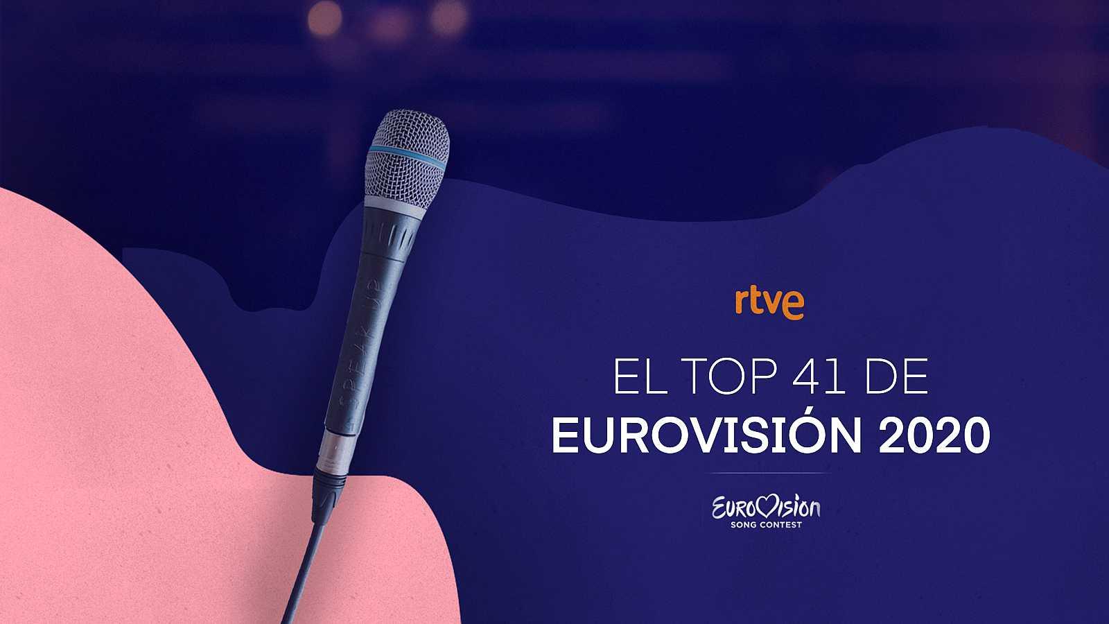 Vota por tus canciones favoritas con el hastag #Top3EurovisiónRTVE