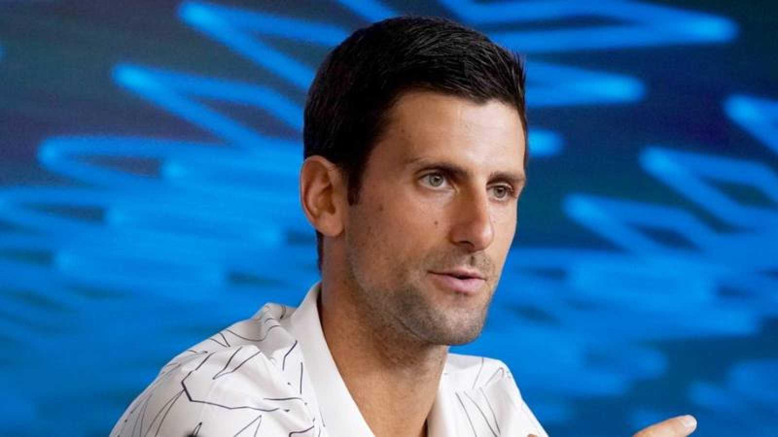 El tenista serbio Novak Djokovic, durante el pasado Abierto de Australia.