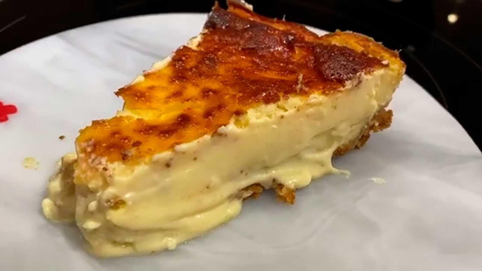 Tarta De Queso La Mejor Receta De Cristina Pedroche L Rtve