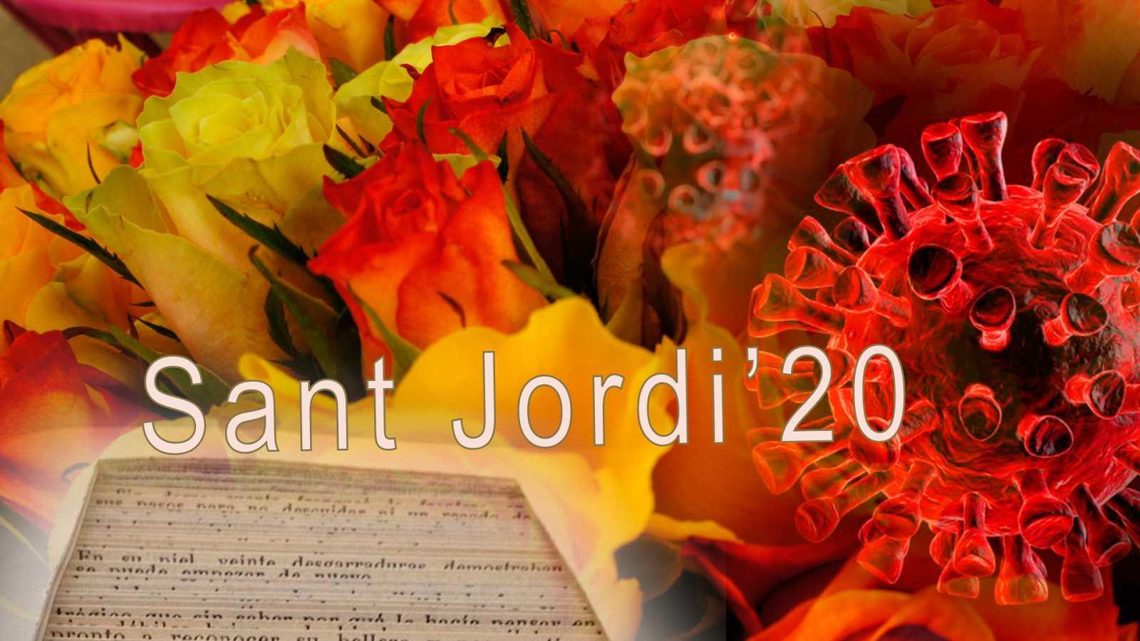 Sant Jordi 2020, una diada diferent