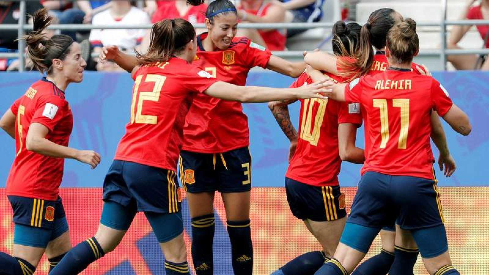 Jugadora de la selección española femenina.
