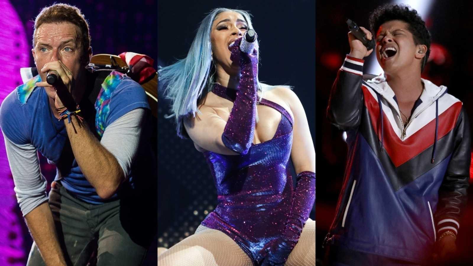 Coldplay, Bruno Mars y Cardi B unidos por el Play On Fest