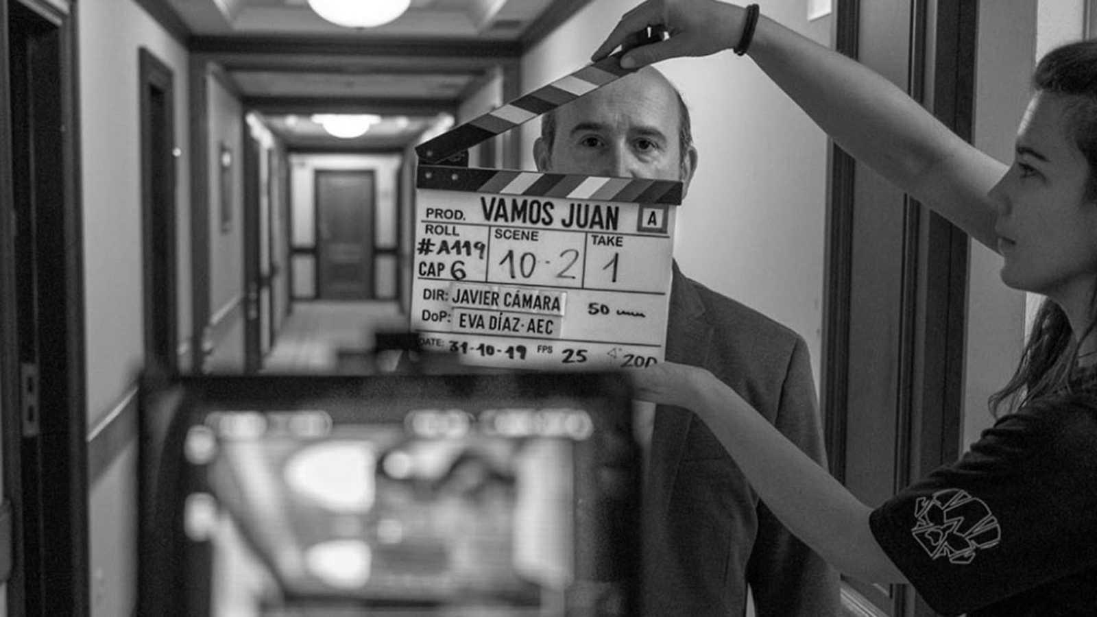Javier Cámara guarda recuerdos de sus rodajes en su cuenta de Instagram