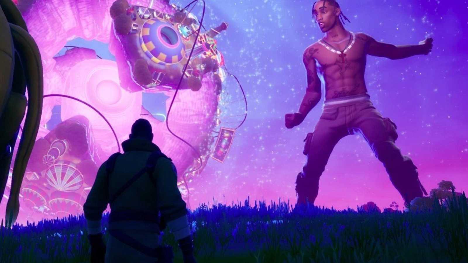 Fortnite bate records con Astronomical, el concierto de Travis Scott en el videojuego