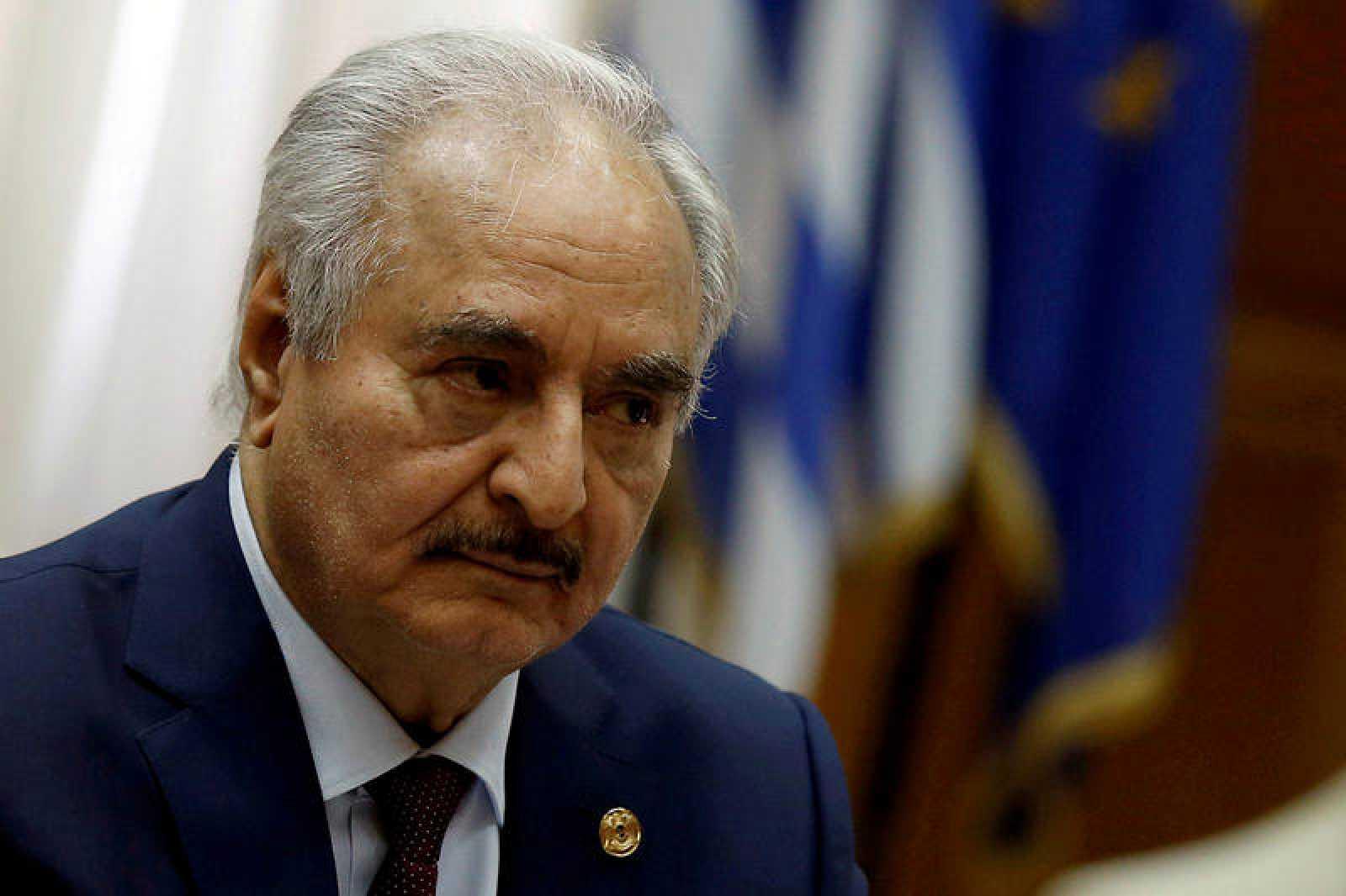 El mariscal Jalifa Haftar dirige el ejecutivo  de Tobruk, no reconocido por la ONU
