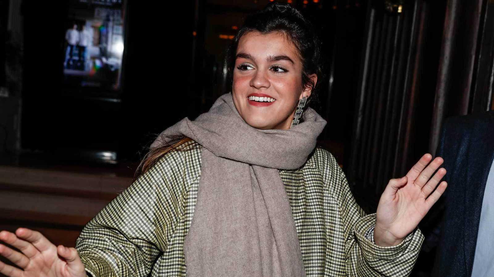 Amaia asistiendo a los premios Odeón el pasado mes de enero.