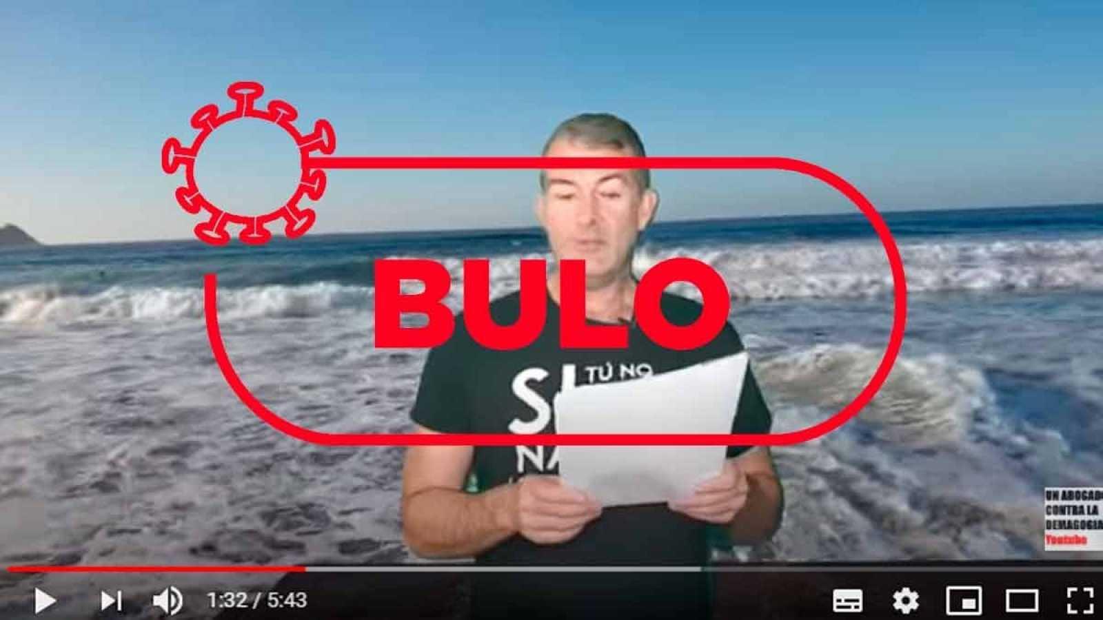 Captura del nuevo bulo apoyado en un vídeo de YouTube que recicla dos falsas informaciones ya desmentidas por Verifica RTVE.