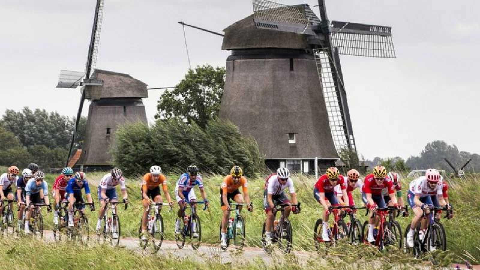 Imagen del Campeonato de Europa de ciclismo en Alkmaar (Países Bajos) en 2019.