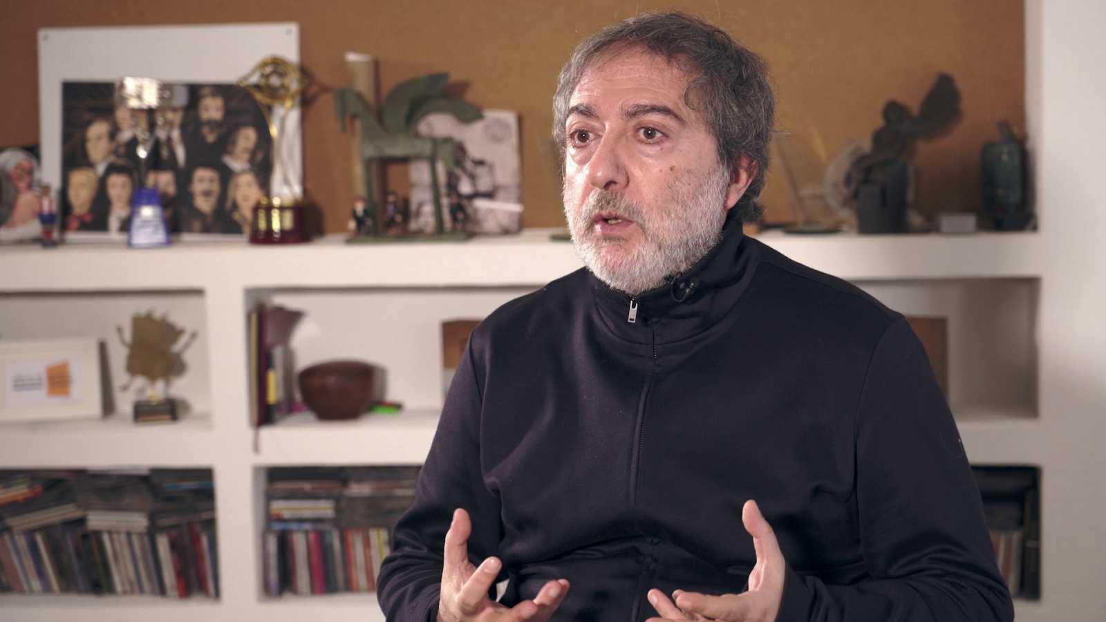 Javier Olivares, co-creador de 'El Ministerio del Tiempo'