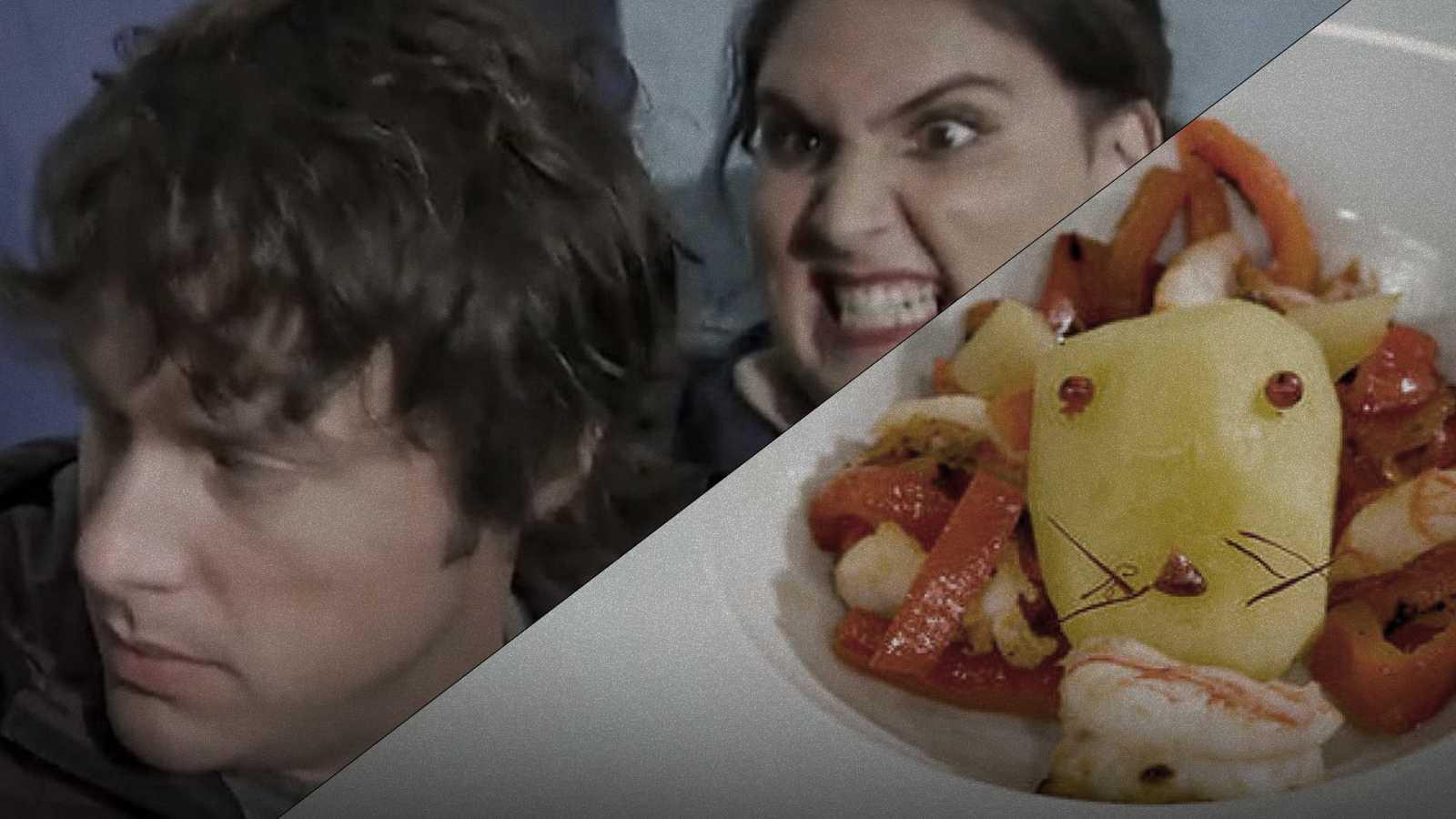 """Saray protagoniza el nuevo """"León come gamba"""" en las cocinas de 'Mastechef'"""