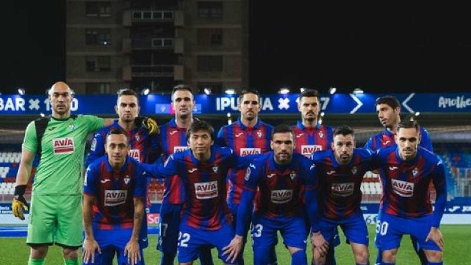Alineación de laSD Eibar en su último partido de liga ante la Real Sociedad.