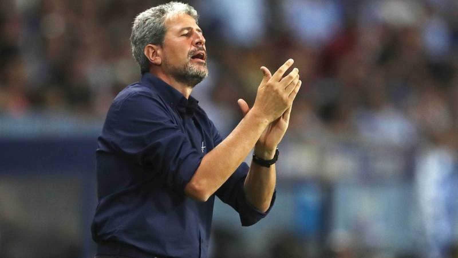 Manolo Márquez, entrenador de fútbol.