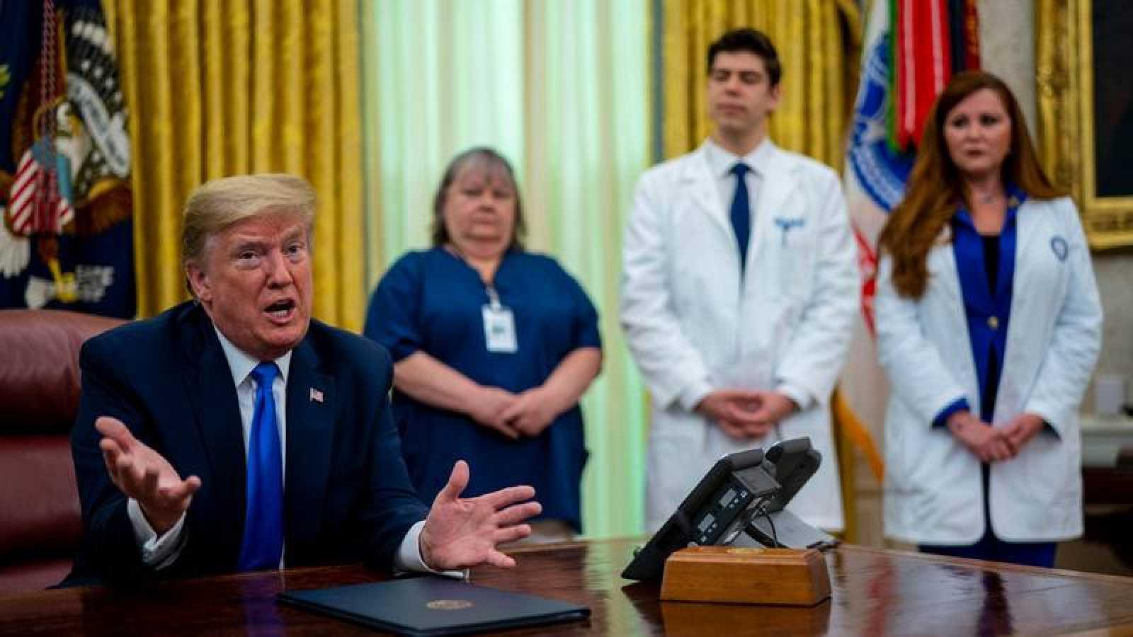 Trump prioriza ya la activación económica mientras Estados Unidos supera los 71.000 fallecimientos