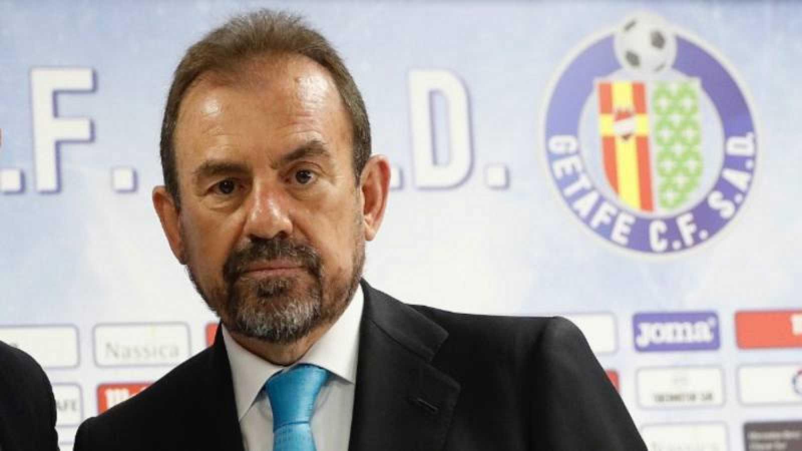 El presidente del Getafe, Ángel Torres en una imagen de archivo.