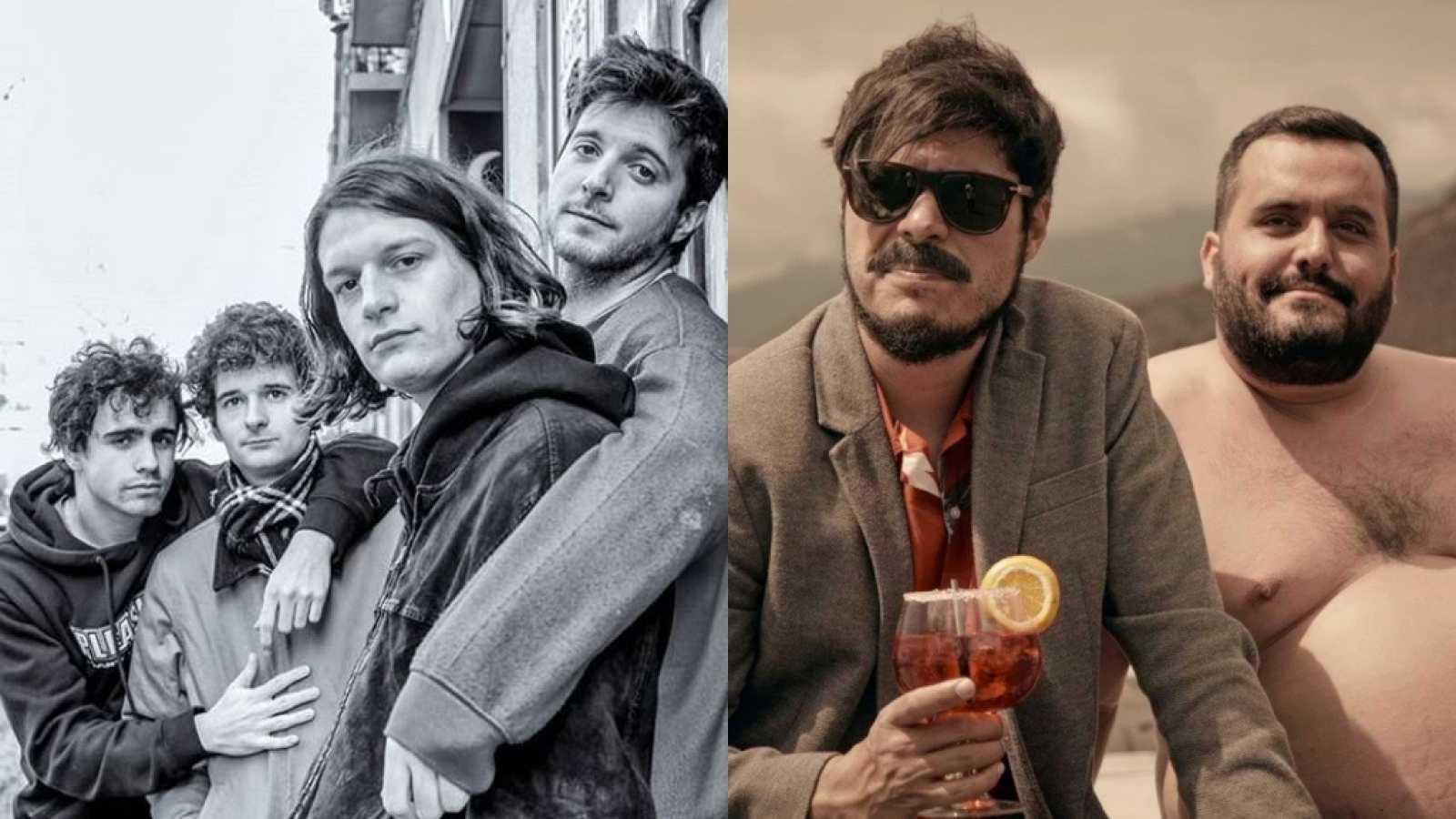 Carolina Durante, Leîti Sene, David Sainz y Kike Pérez y las protagonistas de 'Valeria', los invitados de la semana de 'OK Playz'