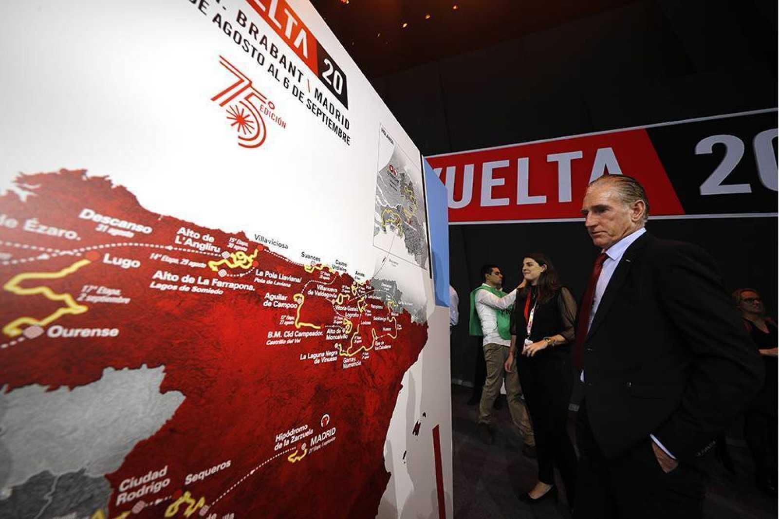 Imagen de la presentación de la Vuelta 2020.