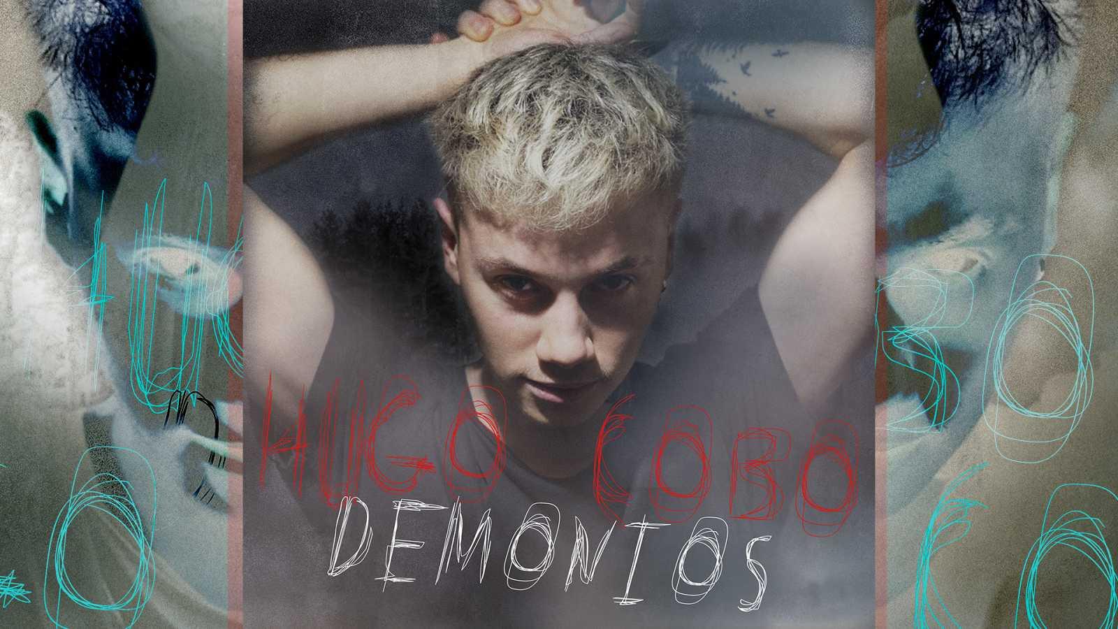 """Portada de """"Demonios"""", primer single de Hugo Cobo"""