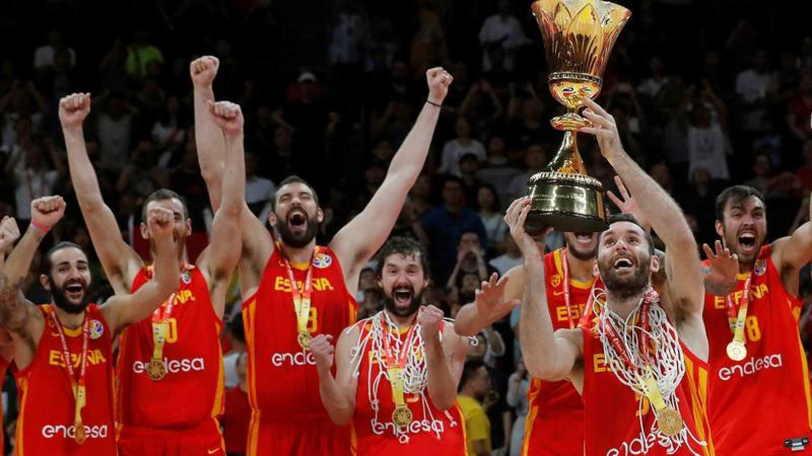 España, vigente campeona del mundo de baloncesto.