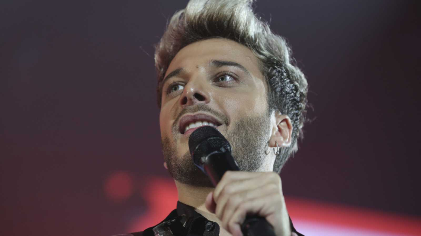 Blas Cantó, representante español en Eurovisión 2021