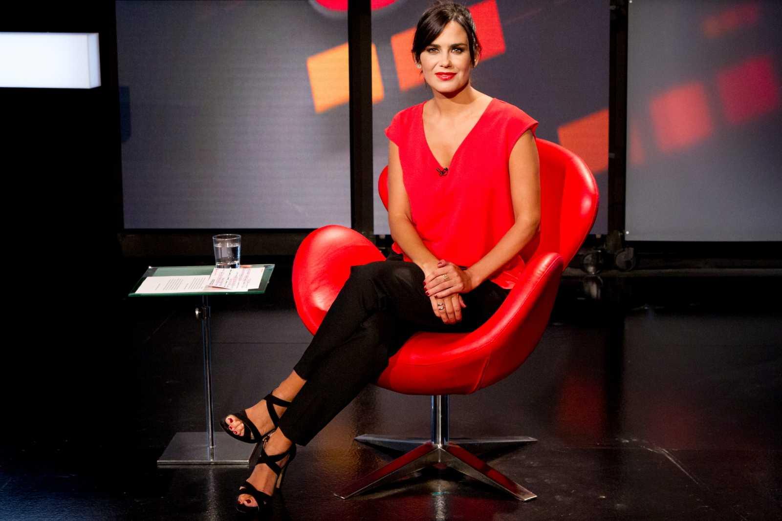 Elena S. Sánchez, presenadora del programa