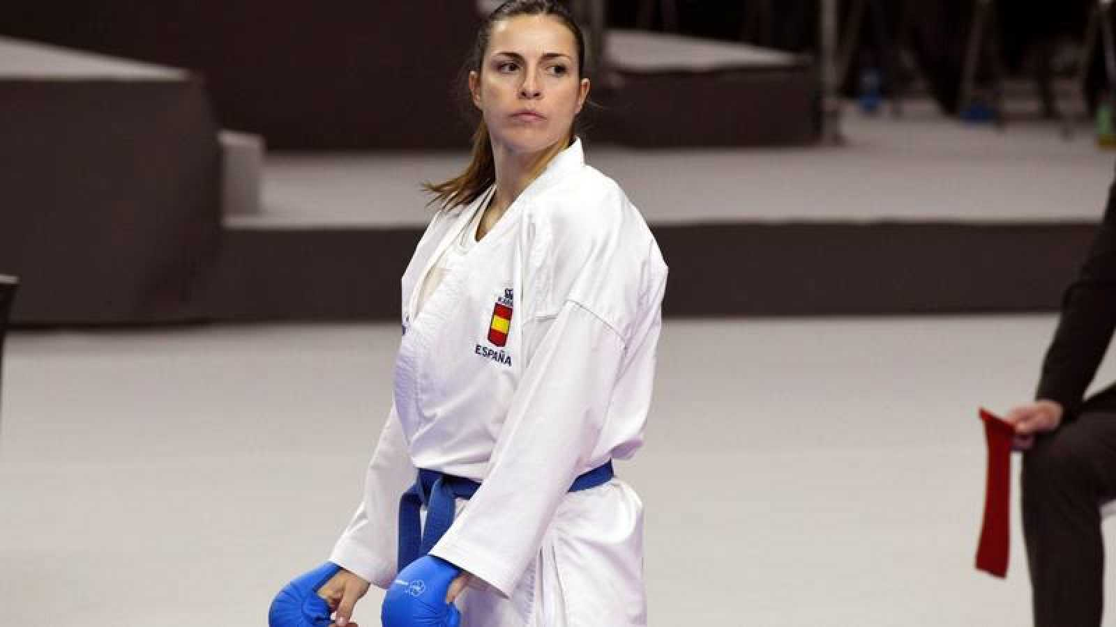 La karateka española, Laura Palacio.