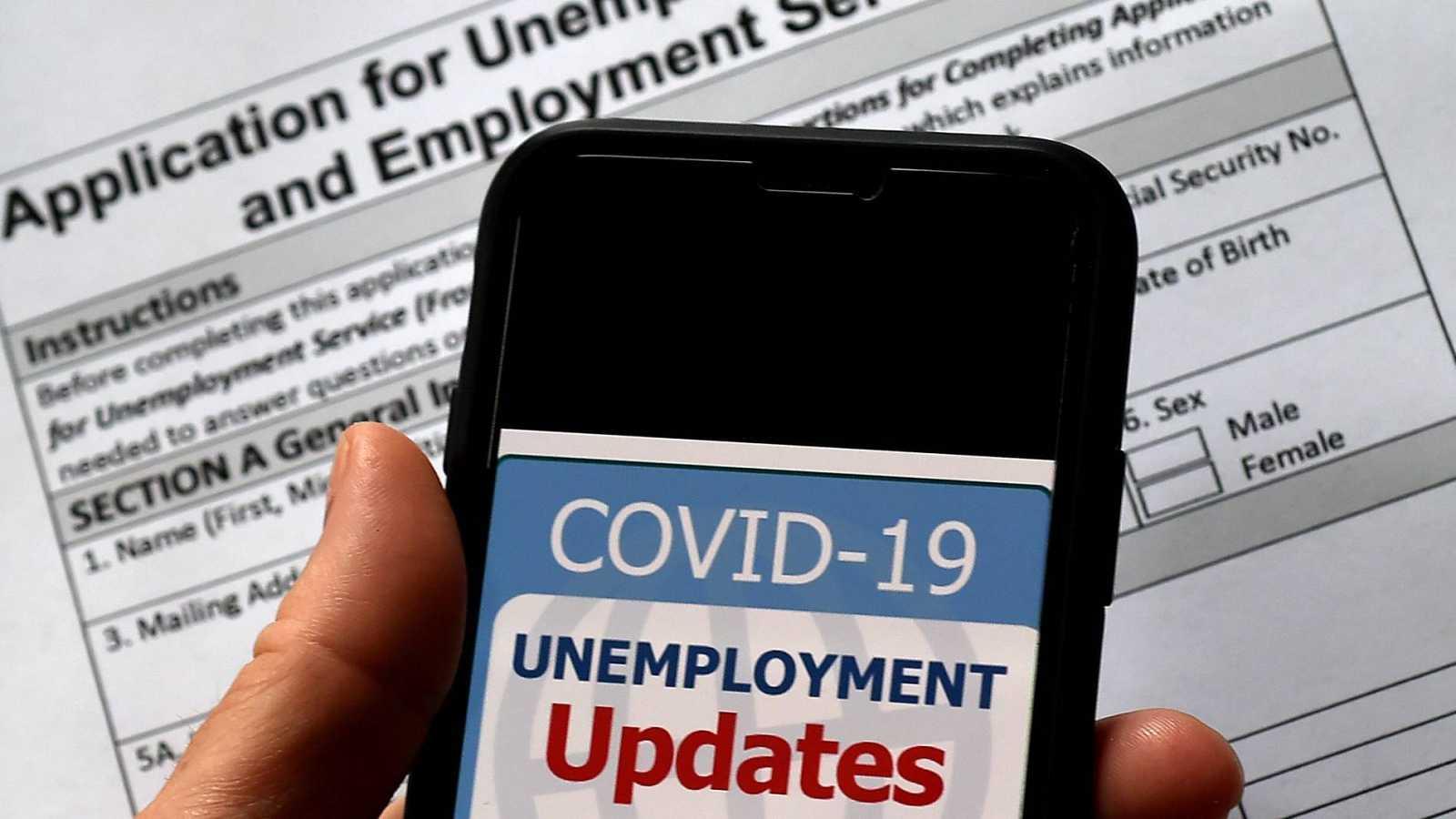 La tasa de desempleo continúa creciendo en Estados Unidos a causa del coronavirus