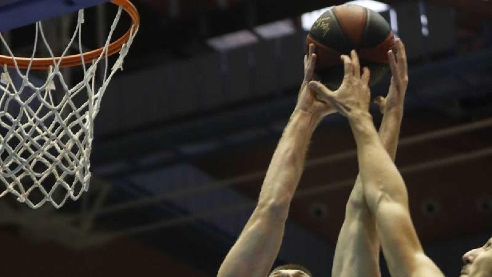 Imagen de un partido de la Liga ACB 2019-2020.