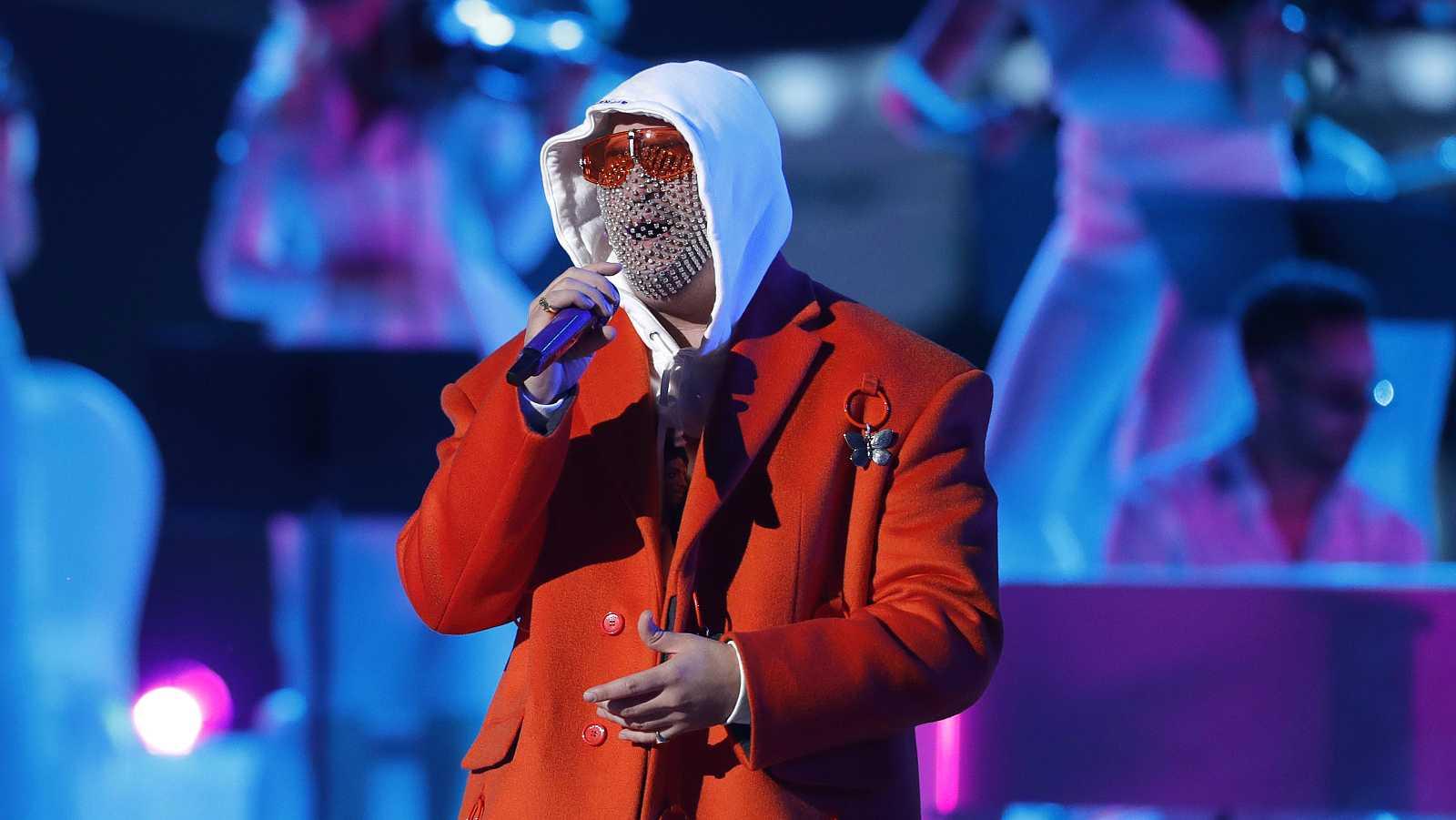 Bad Bunny en la última edición de los premios Grammy Latino.