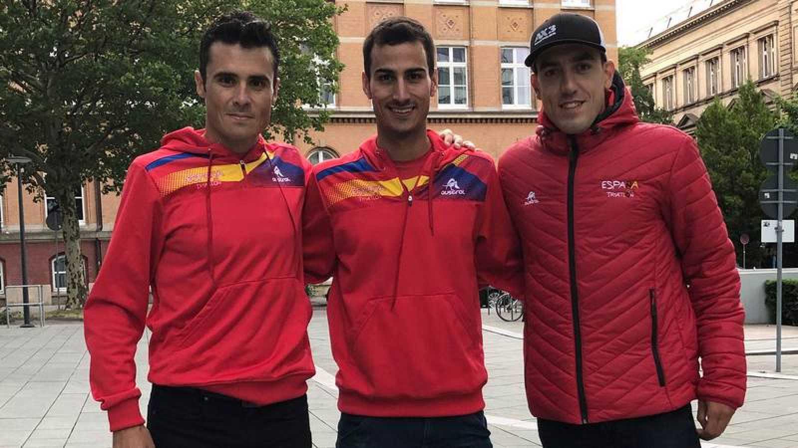 Gómez Noya, Mario Mola y Fernando Alarza, principales bazas masculina en triatlón.