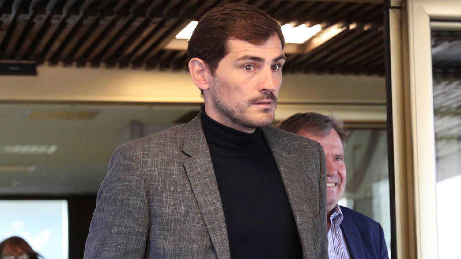 El exportero del Madrid y la selección española Iker Casillas, candidato a presidir la RFEF.