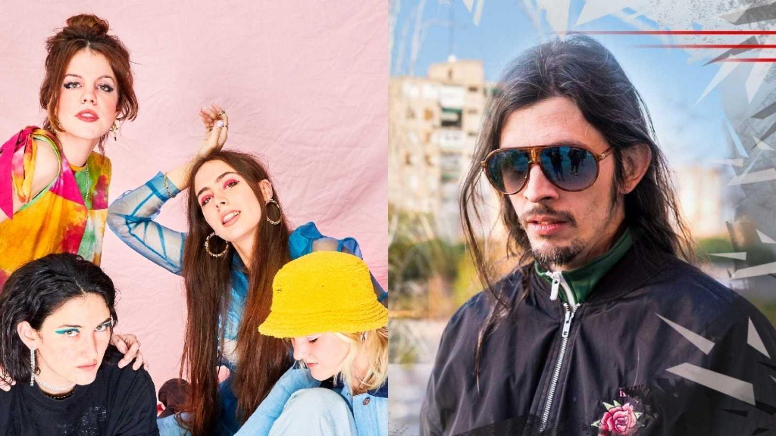 The Hinds, Bejo, El Coleta y Natos y Waor, los invitados de la semana de 'OK Playz'