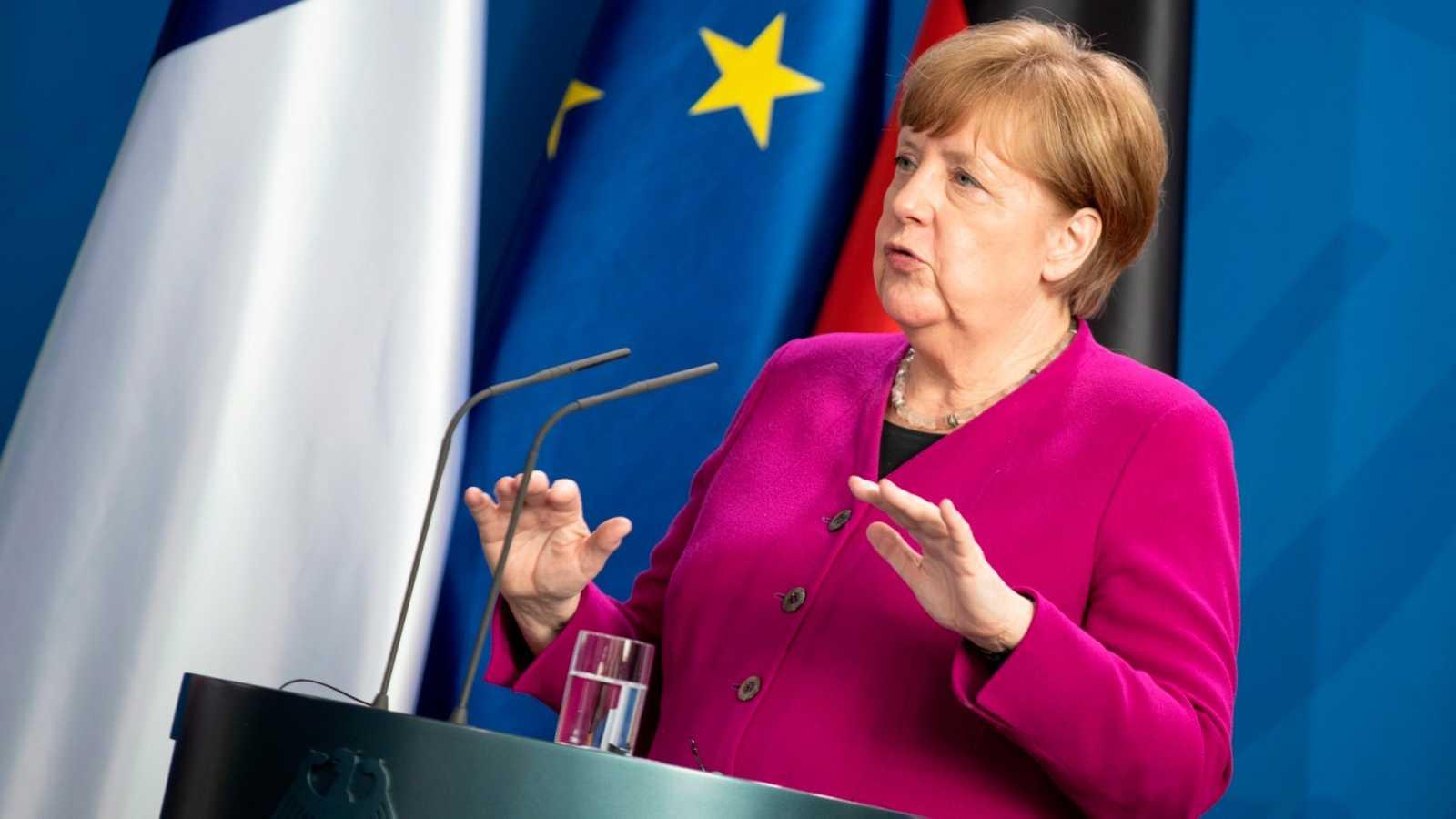 La Canciller alemana, Ángela Mekel
