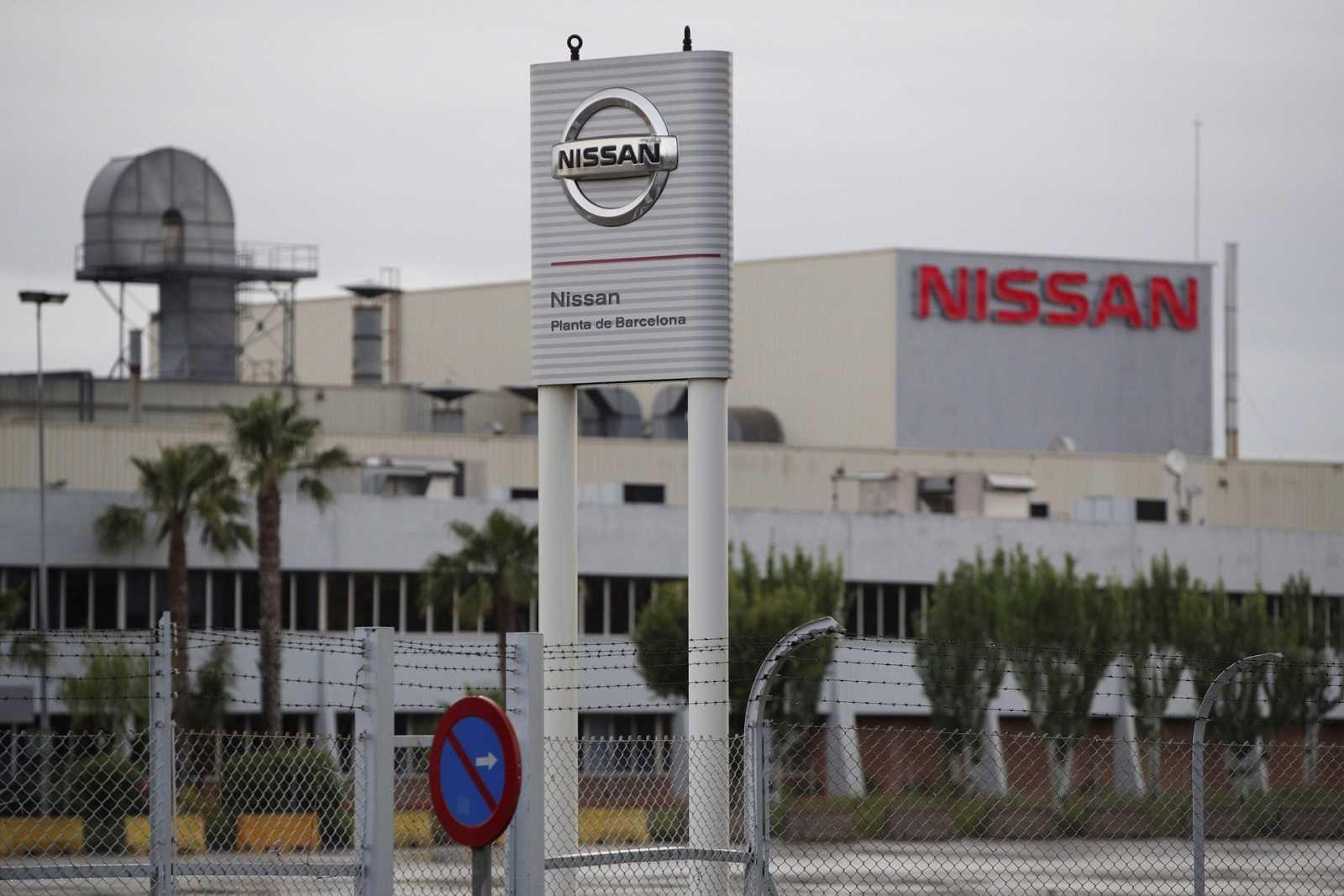Vista exterior de la planta de Nissan en la zona franca de Barcelona