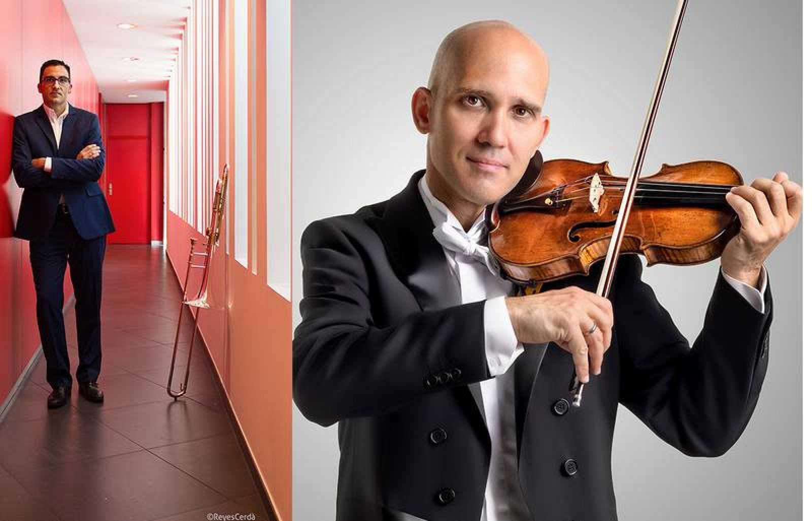 Ximo Vicedo y Miguel Borrego