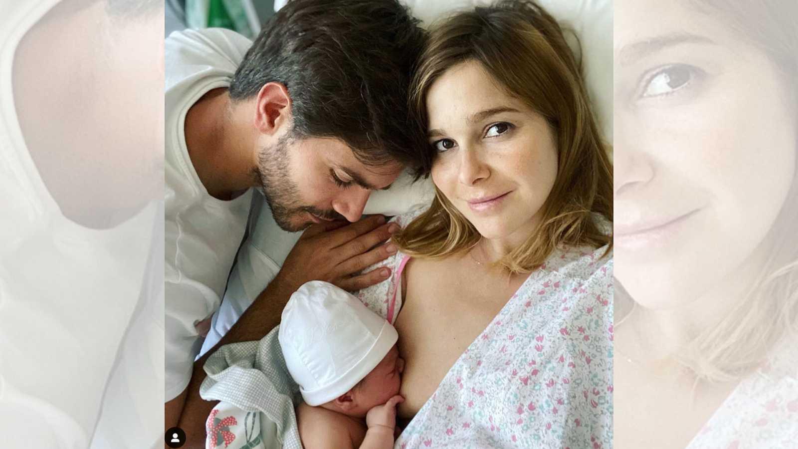 Marc Clotet y Natalia Sánchez presentan a su segundo hijo, Neo