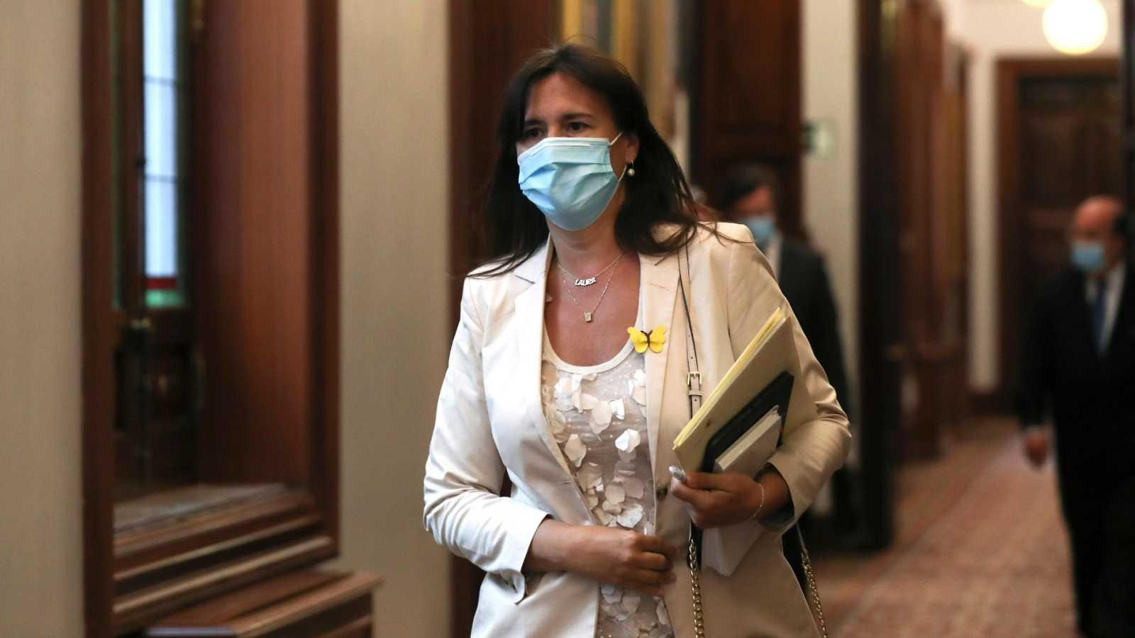 La diputada de JxCat, Laura Borrás, en el Congreso de los Diputados