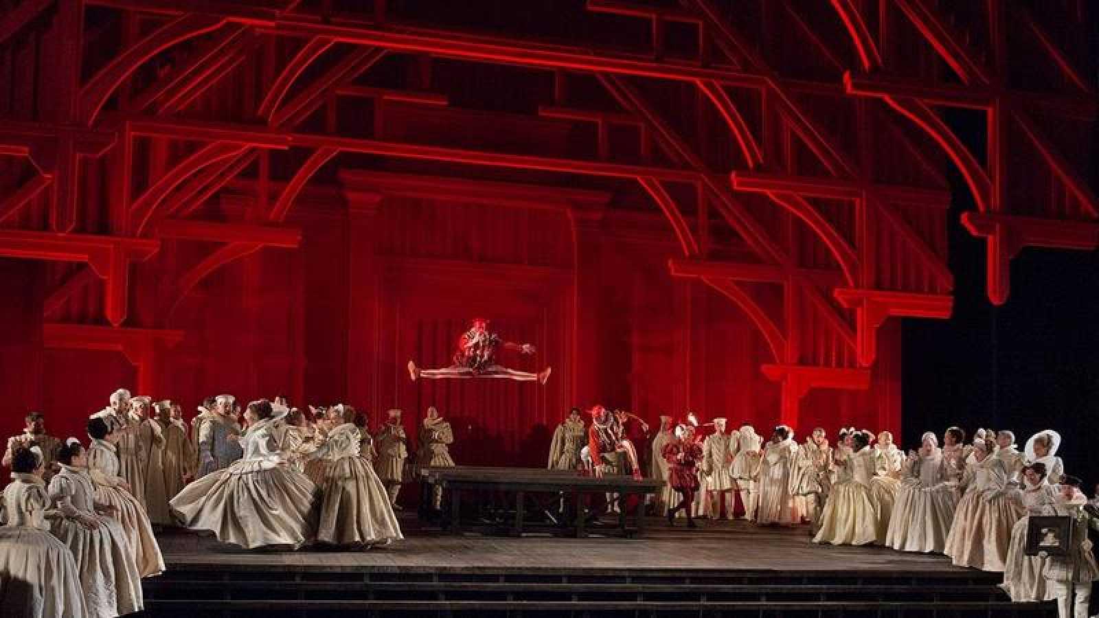 'Maria Stuarda' de Donizetti desde el Metropolitan de Nueva York