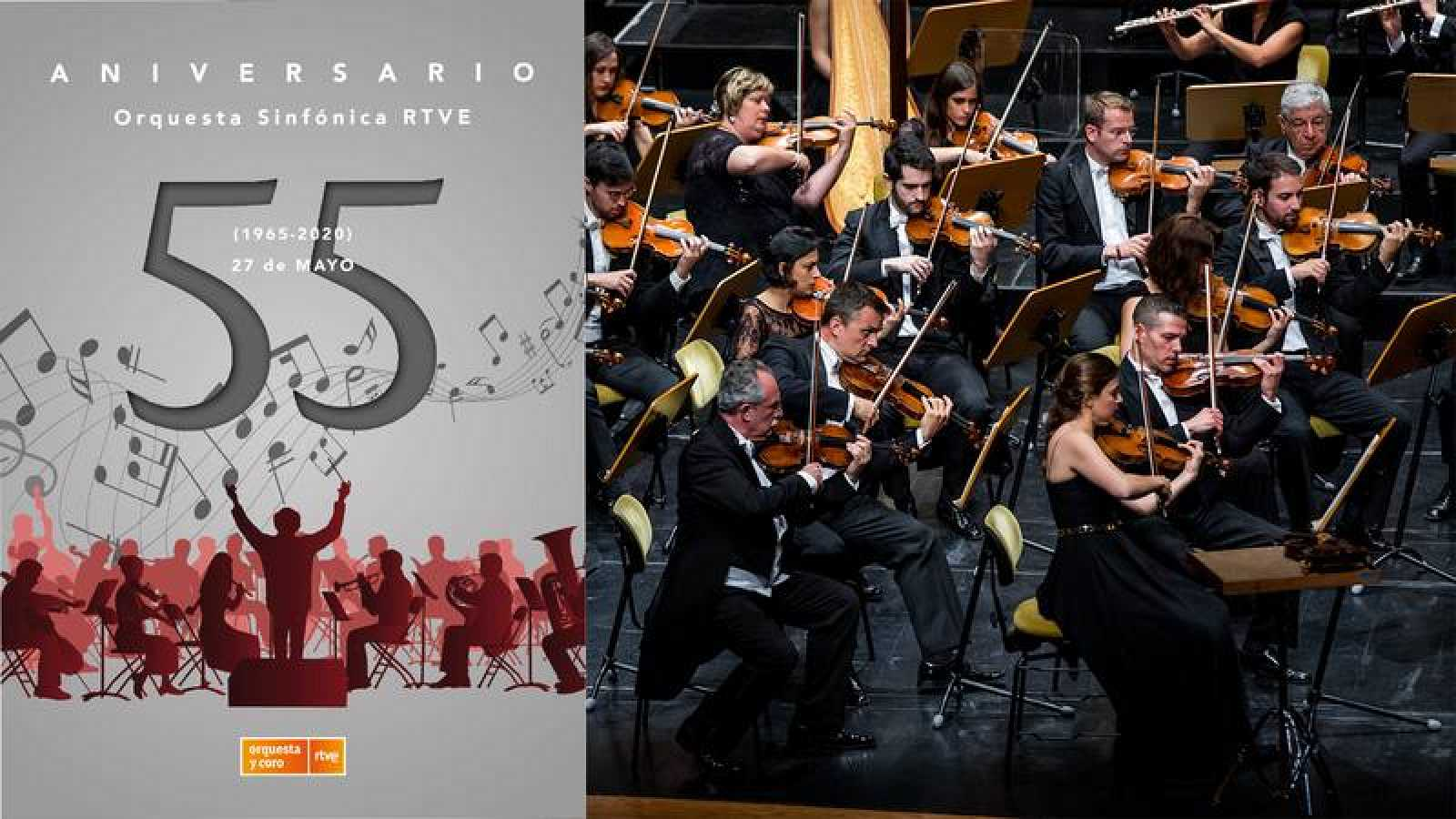 55º Aniversario Orquesta Sinfónica RTVE