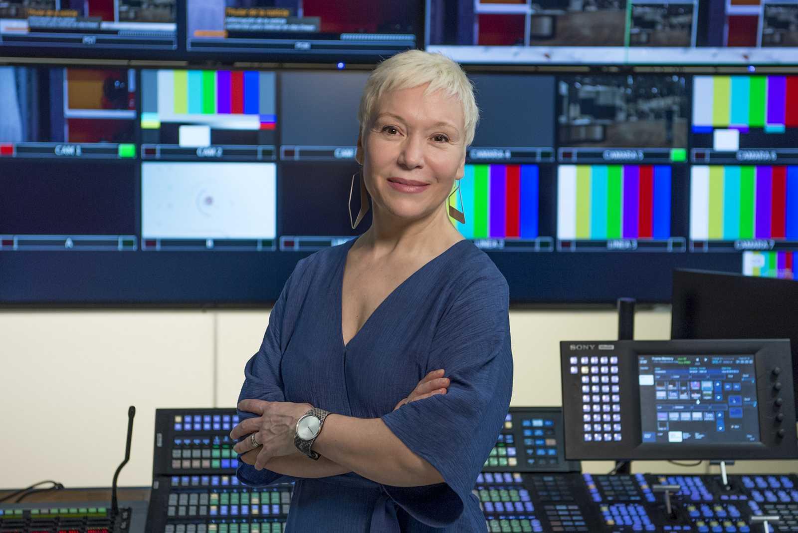Rosa Maria Molló, presentadora del programa