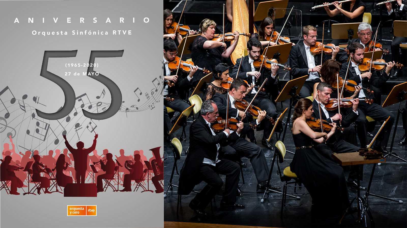 55º aniversario de la Orquesta Sinfónica RTVE