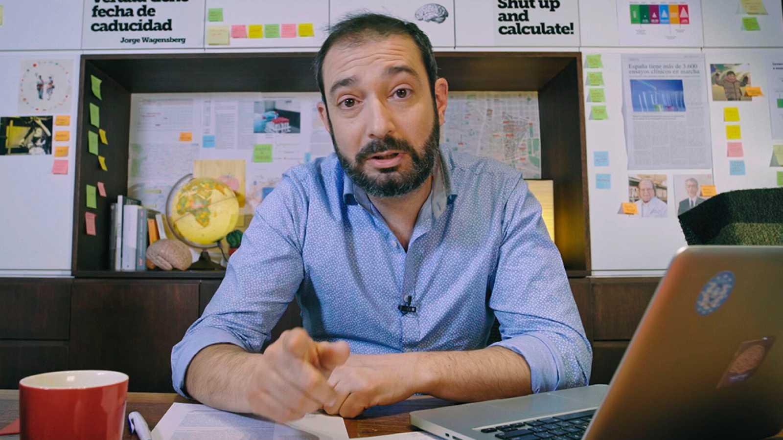 Pere Estupinà, presentador de 'El cazador de cerebros'