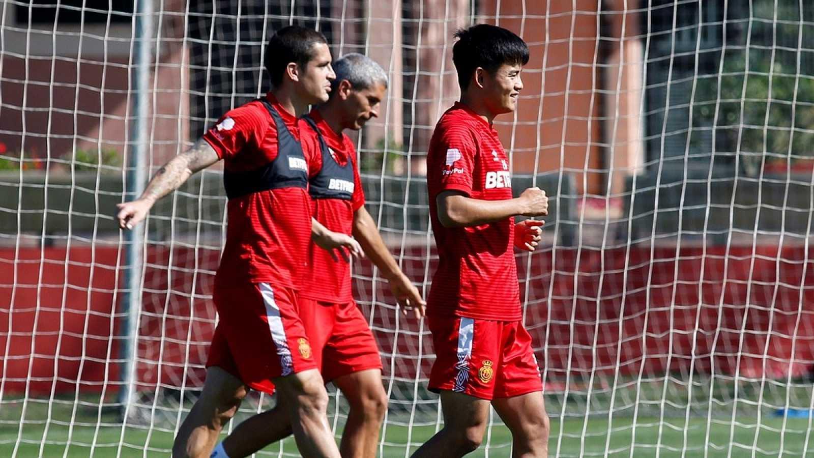 Imagen: Entrenamiento del RCD Mallorca
